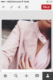 jacket,pink,leather jacket,style