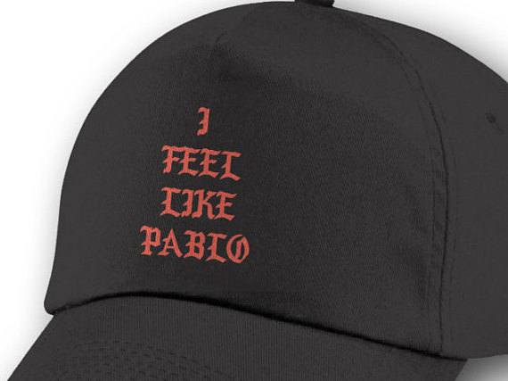 factory authentic f0581 5c4fc Sale - I Feel Like Pablo Cap, Yeezy, Yeezus, The Life of Pablo, Pop Up Tour  Merch, ...