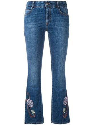 jeans women spandex cotton blue