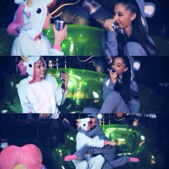 pajamas ariana grande miley cyrus bear don't dream it's over onesie