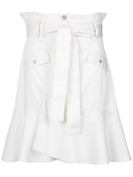 Olympiah skirt midi skirt women midi spandex cotton