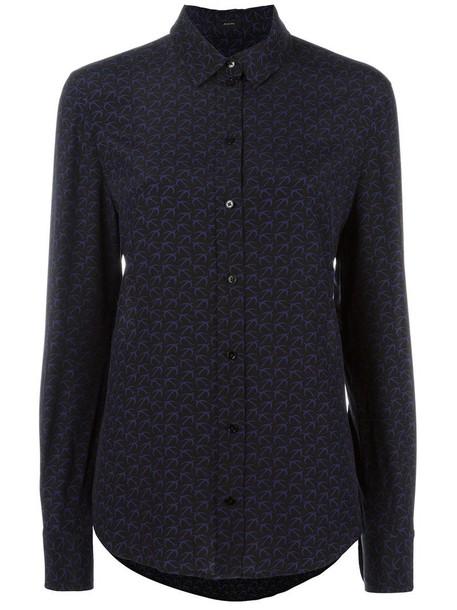 Joseph - plain shirt - women - Silk - 44, Black, Silk