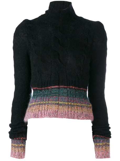A.F.VANDEVORST jumper women black wool sweater