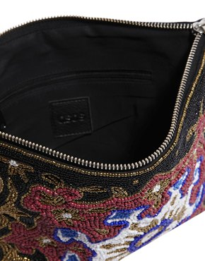 ASOS | ASOS Clutch Bag With Ornate Embellishment at ASOS