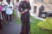 dress,lace,black,gown,maxi,low back