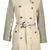 Authentic Burberry Bespoke Beige Kensington Studded Trench Coat Size 6 | eBay