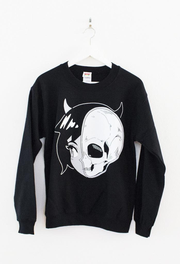 Skullgirl sweater – omocat