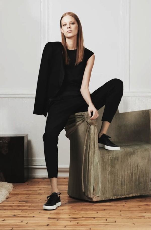 le fashion image jacket t-shirt pants shoes