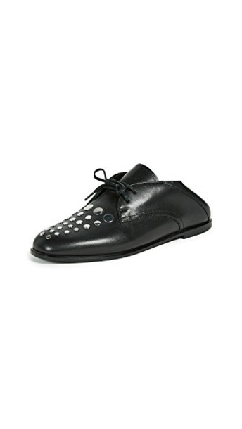 Alexander Wang oxfords black shoes