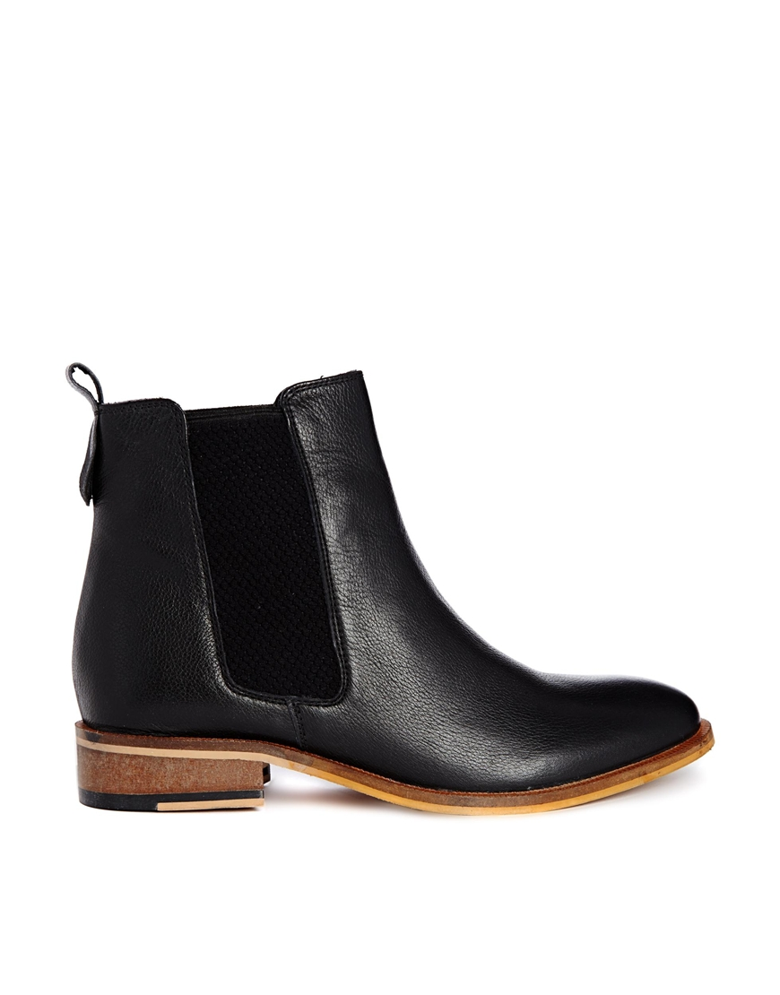 bertie palace chelsea flat boots at asos