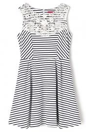 Attractive Striped Mini Dress - OASAP.com