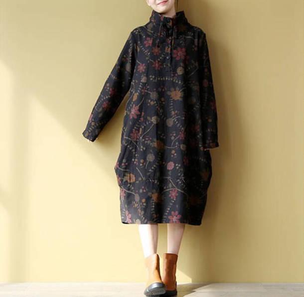 dress large size dress black dress
