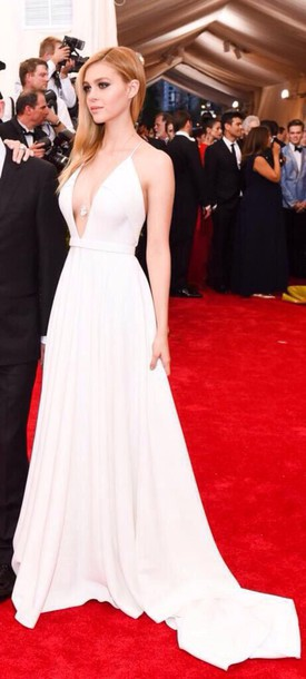 Red carpet maxi dresses