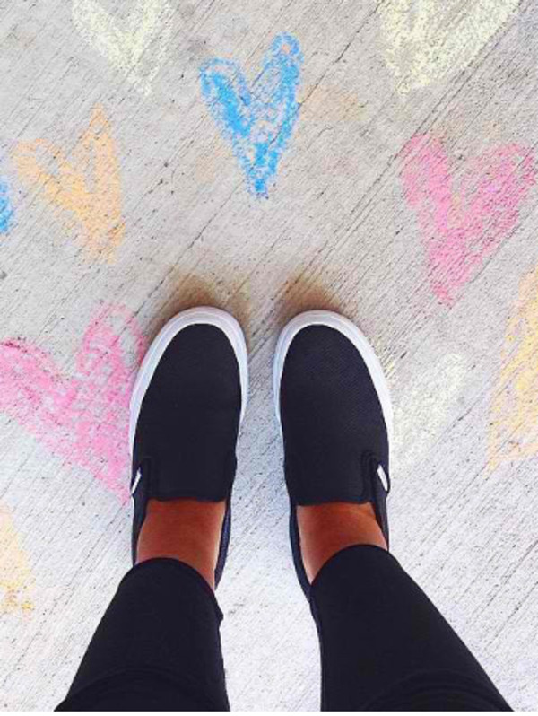 girly swag slayer sneakers vans vans girls vans slip on shoes style