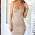 Camel color dress | FASHADDICT