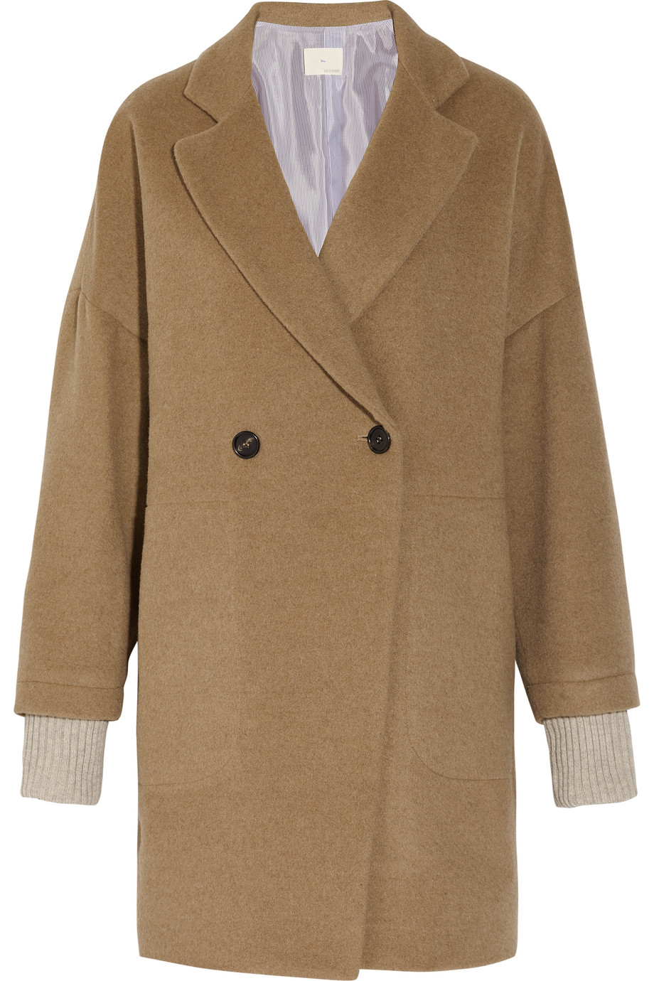 Oversized camel coat | Band of Outsiders | 65% off | THE OUTNET