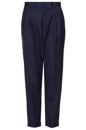 Modern Tailoring Pinstripe Trousers - Topshop USA
