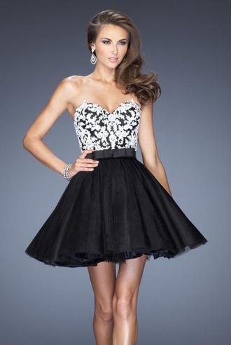 dress black dress lace backless graduation dress prom dress