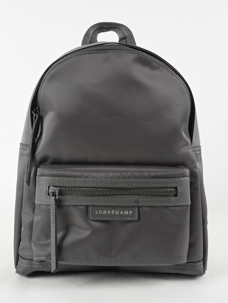 Longchamp backpack grey bag