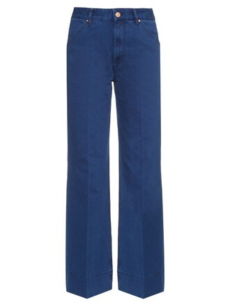 jeans high navy