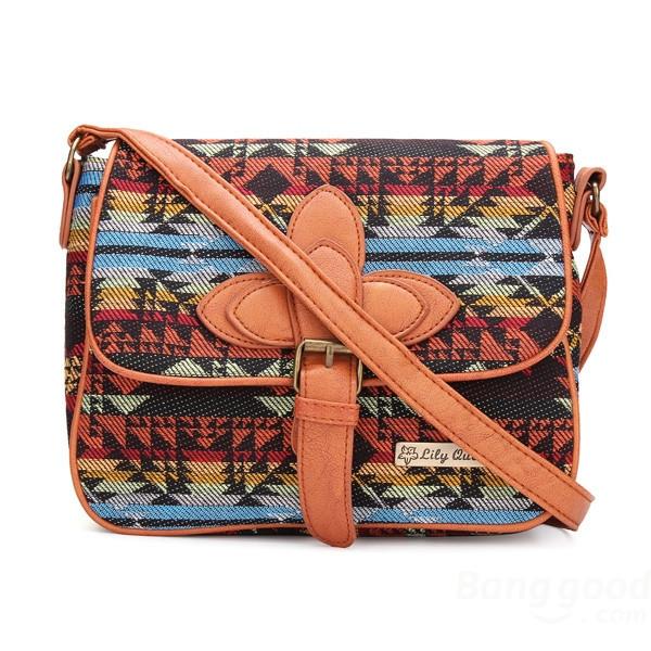 Tribal satchel bag