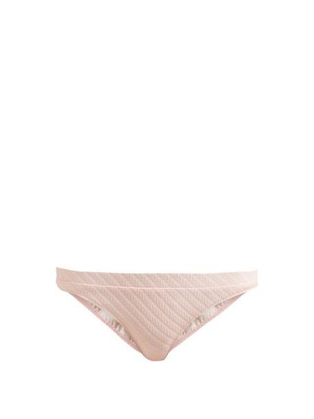 Solid & Striped - The Madison Bikini Briefs - Womens - Light Pink