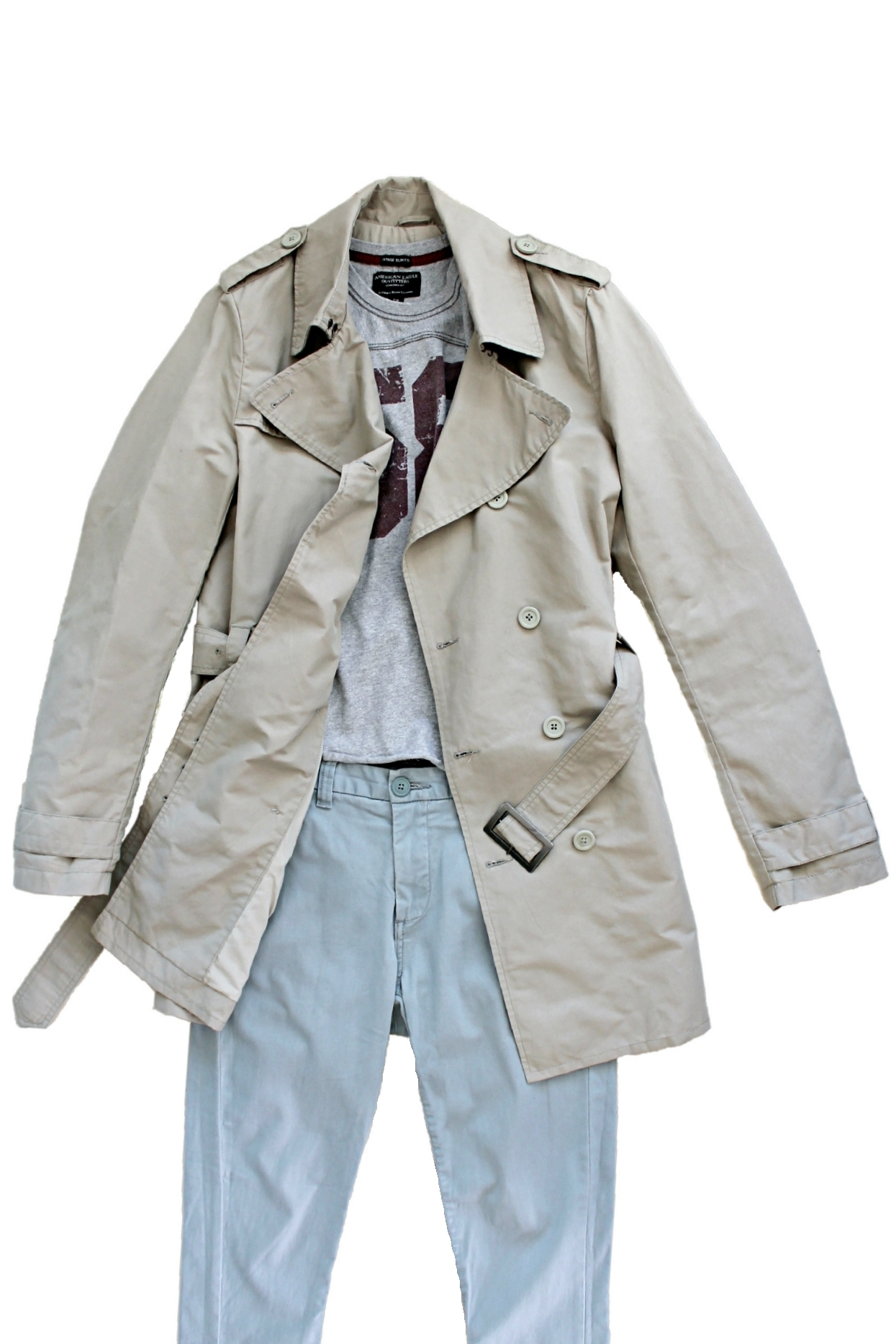 Cryptic trench coat