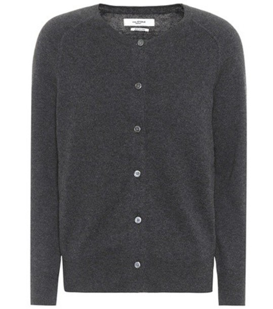 Isabel Marant, Étoile cardigan cardigan cotton silk grey sweater