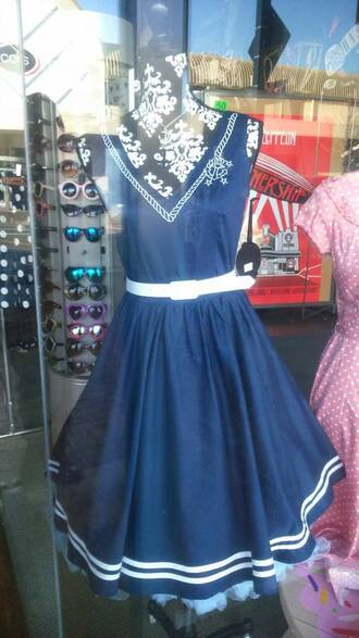 dress anchor rockabilly