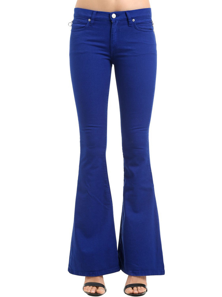 ALYX Flared Cotton Denim Jeans in blue