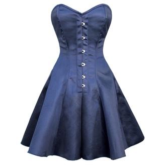 dress corset corset dress blue dress style