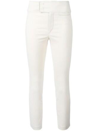 women spandex nude cotton pants