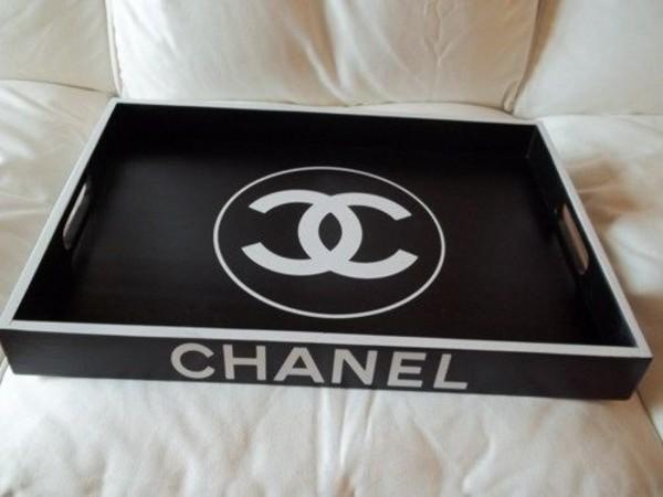 Chanel Inspired Vanity Tray