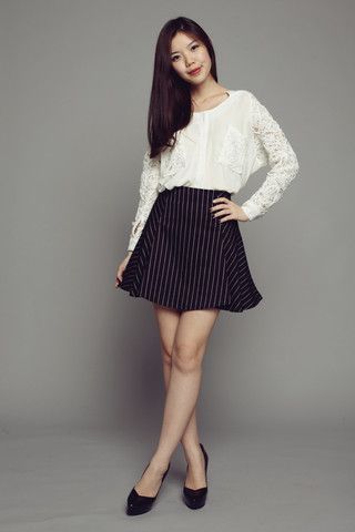 skirt | SMOOCH THE LABEL