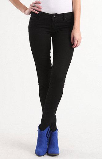 Bullhead Black Basic Black Low Rise Skinny Jeans at PacSun.com