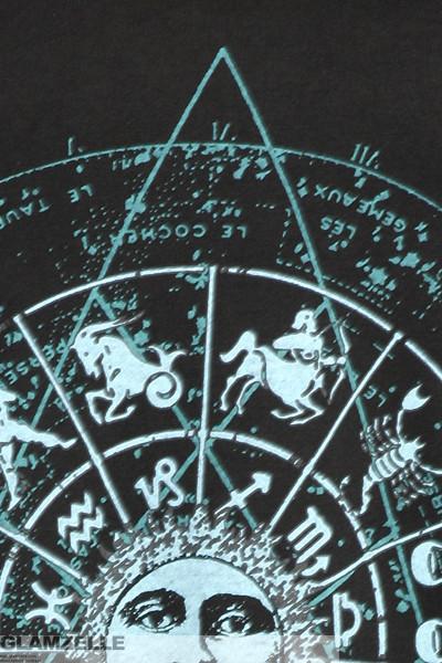 "Boho ""astrology, moon & sun"" zodiac signs print muscle tank – glamzelle"