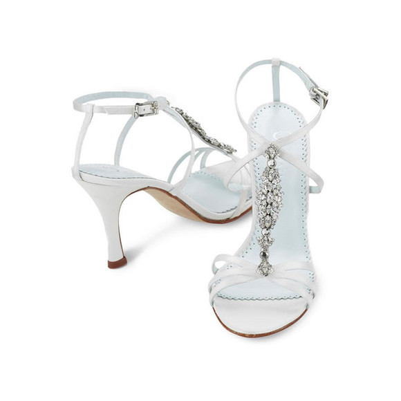 shoes low heels white shoes prom shoes silver shoes white silver bling-bling