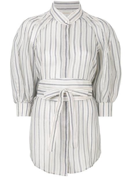 Zimmermann blouse women white silk top