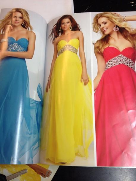dress yellow red dress yellow dress blue dress