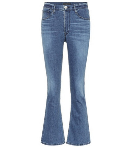 3x1 W4 Crop Boot jeans in blue