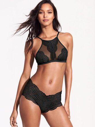 underwear panties lingerie lais ribiero model victoria's secret bra bralette lace bralette lace lingerie victoria's secret model