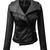 ROMWE | Sheer Black PU Jacket, The Latest Street Fashion