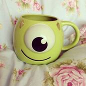 monsters inc,home accessory,home decor,mug,monster inc
