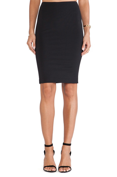 theory skirt pencil skirt black