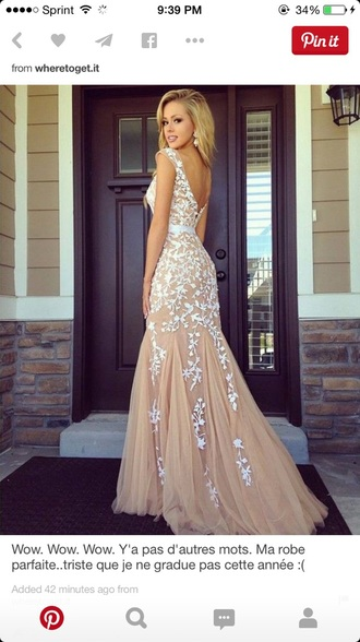 dress lace dress brown dress