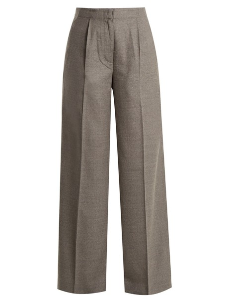 Elizabeth and James high wool grey pants