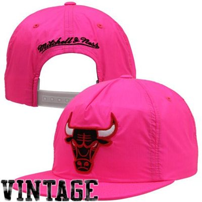 Mitchell & Ness Chicago Bulls Neon Snapback Hat - NBA Store