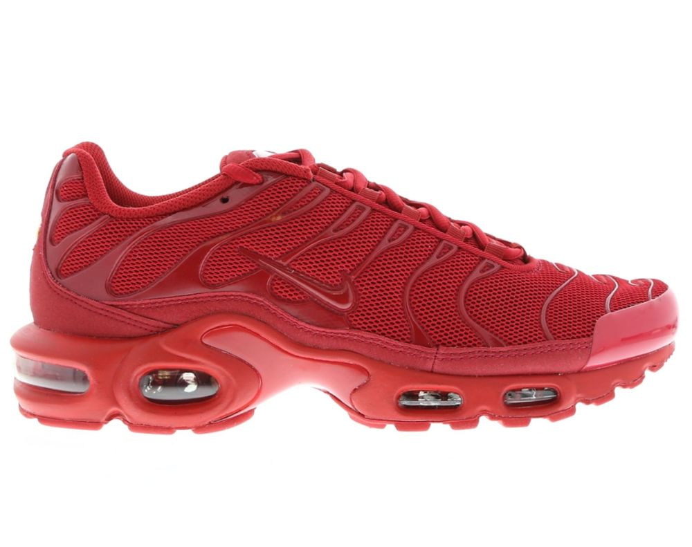 online store 67a01 a93d0 Nike Air Max Plus Tuned 1 TRIPLE RED  All Sizes  RED TN