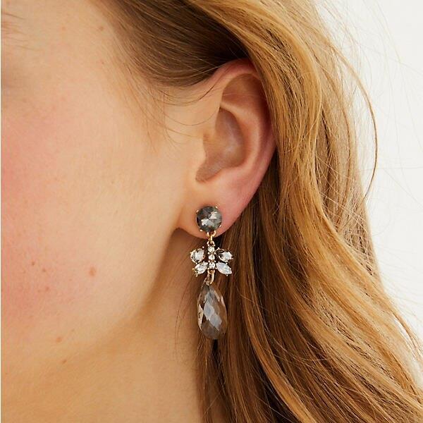 LOFT Icy Drop Earrings