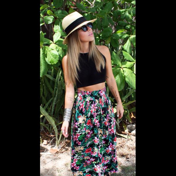 skirt maxi skirt blogger jhene aiko